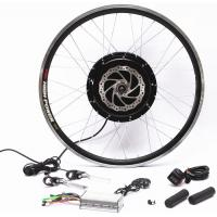 Quality Optional Electric Bicycle Front Hub Conversion Kit 55-65km / Hour Full Speed for sale
