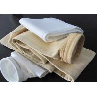 Quality Compound Glass Fiber Cloth Industrial Filter Bag for Air / Gas Filtration for sale