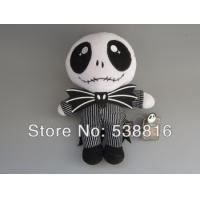 Quality Hot Sale The Nightmare Before Christmas 24cm Jack Skellington Plush Toy Dolls for sale