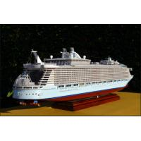 Durable Natural Resin Allure Of The Seas Model With 50% NC Carving Processing Index