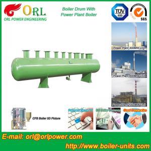 Chain Grate Boiler Drum / Drum Boiler High Capacity with Energy Saving