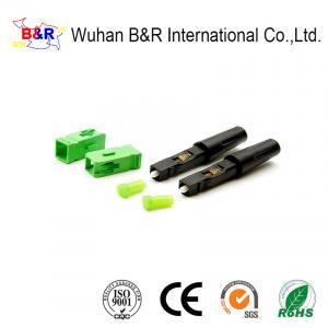 Quality 1550nm 2.0mm Fibre Optic Connectors For FTTH Drop Cable for sale