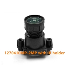 "Buy cheap 1/2.7"" 4mm F1.0 2Megapixel M12x0.5 mount black-light full color board lens, from wholesalers"