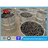 Chrome iron ball mill grinding media balls for gold mining by the SGS test