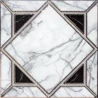 Buy Gold Glazed Decorative Cristal Ceramic Tiles 300 X 300 Mm For Entryway Floors at wholesale prices