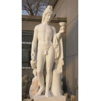 China Western man marble sculptures for garden and Home Decoration Sculpture on sale