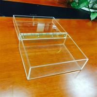 China Clear acrylic gift box, Customized Acrylic coffee Box With Lids on sale