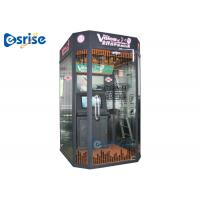 Quality Coin Operated Portable Karaoke Machine Metal Tempered Glass Frame Strucutre for sale