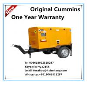 Quality 30KW power generation 50Hz trailer genset Cummins 4B3.9 for sale