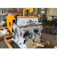 Quality Manual Type Die Cutting Machine For Corrugated Box for sale
