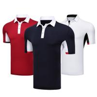 China Casual Business Breathable Black Company Polo Shirt Heat Transfer Formal Style 100% Polyester on sale