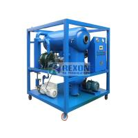 Buy cheap ZYD-100 / 6000LP Transformer Oil Purifier Machine Vacuum Oil Newable System from wholesalers