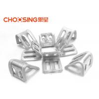 China Galvanized 23mm Upholstery Spring Clips 0.8 - 1.0mm Thickness Long Lifetime on sale