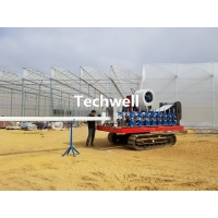 Quality 0.5mm Portable Greenhouse Gutter Machine For Hydroponic Systems Hanging Gutter for sale