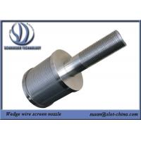 Quality Filter Nozzle 1T Filtration Ability Stainless Steel 304 With 0.18mm Gaps for sale