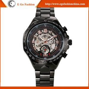 China WN18 30M Waterproof Watch WINNER High End Stainless Steel Watch Mechanical Watch Sport Man on sale