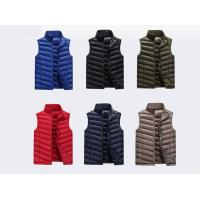 Quality Polyester/ Cotton Work Jackets & Vests For Men Zipper With Twill / Women's Jackets for sale