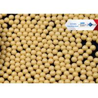 China 80 Cerium Stabilized Ceramic Grinding Media Balls , High Shear Sand Mill Grinding Media on sale