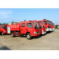 Quality Water Tanker Fire Fighting Truck For Fire Service With Water Pump And Fire Pump for sale