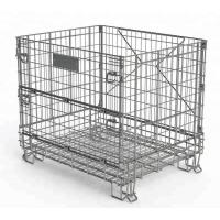 Quality Wine Industry Heavy Duty Wire Mesh Baskets Customized Size And Color for sale