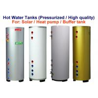 Quality Pressured Hot Water Holding Tank 6Bar / 87psi Colorful Painted Steel Cover for sale