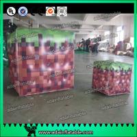 Quality Inflatable Advertising Balloons / Inflatable Red Cube ball / Inflatable Square Helium With for sale