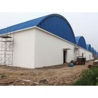 China Arch Roof  Workshop Curved Roof Metal Buildings Arc Steel Structure Construction on sale