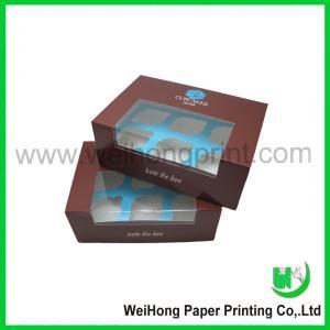 China 2012 Cupcake box on sale