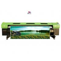 China Eco-friendly commercial digital printer machine with wide format dual colors on sale