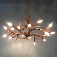 Quality Mule deer antler chandelier for Bar Coffee Sitting room (WH-AC-23) for sale