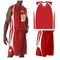 Buy Red Basketball Uniforms at wholesale prices