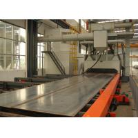 Quality Channel Steel Blast Cleaning Equipment Electric Fuel 38000 m3 / h Air Capacity for sale