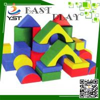 Quality Colorful Soft Play Sponge , Soft Baby Blocks D4605 No Toxic For Preschool for sale