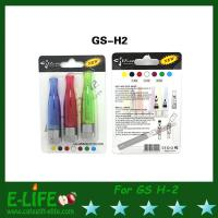 Quality Real GS H2 Clearomizer E Cigarette Atomizer with 1.8/2.4/2.8 ohm GS-H2 with 2 kind Package for sale