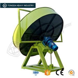 Quality NPK fertilizer pan granulator rounding machine/fertilizer disk pelletizer equipment for sale