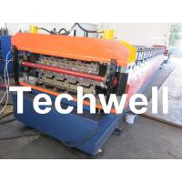 Quality PLC Frequency Control System Double Layer Roofing Roll Forming Machine TW-DLM for sale