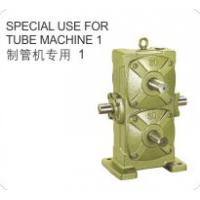 Quality Cast Iron Shell Worm Reduction Gear Special Use for Tube Machine Made in China for sale