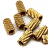 Quality Customized Heavy Hex Nuts Non Standard Brass Knurled Insert Nut ISO 7045 for sale