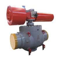 Quality API 6D Casting Trunnion Top Entry Ball Valve Manual / Actuated Operation for sale