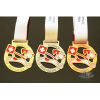China OEM Zinc Alloy Material Custom Award Medals / School Sports Medals on sale