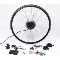 Quality 7 Speed Rear Wheel Electric Bike Hub Motor Conversion Kit With Batteries for sale