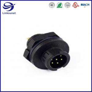 Quality Mini IP68 Black Waterproof Connector For Wireless Communication for sale
