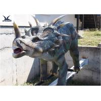 Quality Mechanical Playground Animatronic Life Size Dinosaur Decoration Equipment Model for sale