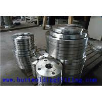 Quality Pipe Fittings Carbon Steel Flanges / Slip On Flange Welding Size 1-60 Inch for sale