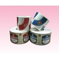 custom printing full color paper sticker label with strong adhesive in roll manufacturer