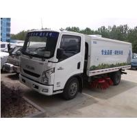 Quality IVECO Yuejin brand 4x2 LHD diesel Street Sweeping Truck for sale, factory sale best price Yuejin road sweeping vehicle for sale