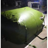Quality Durable 3m3 Fuel Storage Tanks Folded TPU Coated Inflatable Fuel Tank for sale