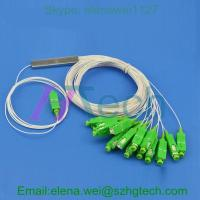 Quality Steel Tube Fiber Optic 1*16 PLC Splitter With SC/APC Connector for sale