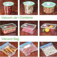 Quality VACUUM JAR, VACUUM CONTAINER, channel vacuum pouch food storage bag, Safety food grade vacuum storage bag, home used vac for sale