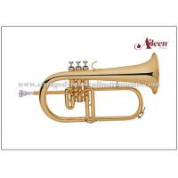 China Y style Professional FlugelBrass lacquered With Premium Case (FG8612G) wholesale